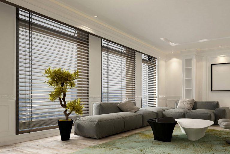 Solombra raamdecoratie aluminium jaloezieen