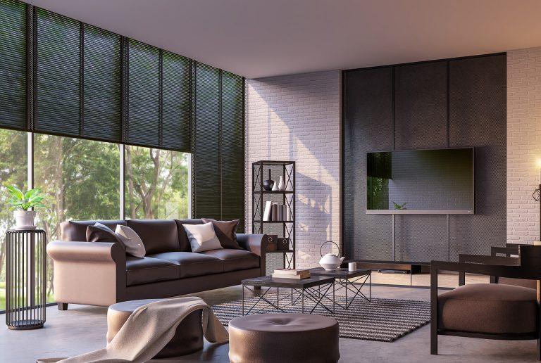 Solombra raamdecoratie aluminium jaloezieen luxe