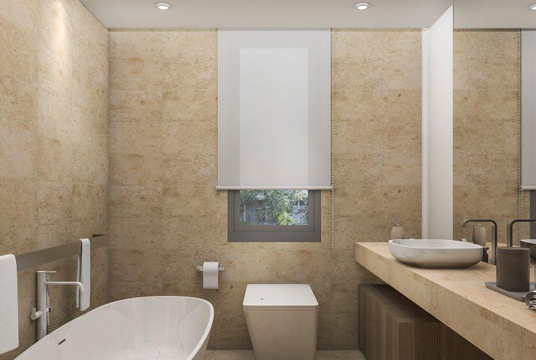Solombra-raamdecoratie-rolgordijn-badkamer