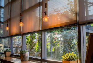 Solombra raamdecoratie rolgordijnen