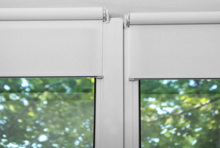 Solombra raamdecoratie rolgordijnen wit